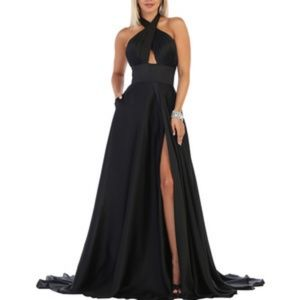 New formal gown. Bridesmaid evening prom dress